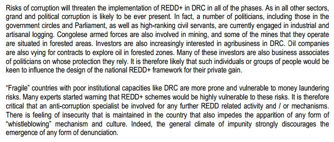 http://www.redd-monitor.org/wordpress/wp-content/uploads/2012/01/NORAD-PwC-Implementing-REDD-in-DRC-Corruption-risks-NORAD-Final-Version-E.pdf