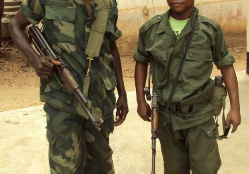 FARDC Soldiers - The Advocacy Project