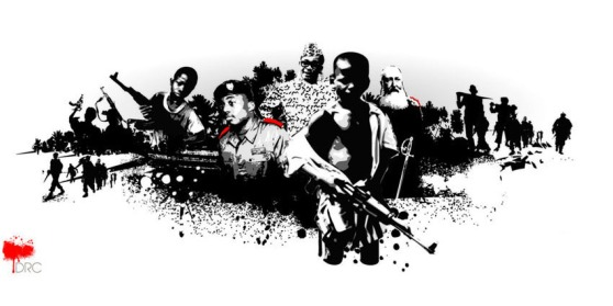 War Child UK 'Nations of Conflict' visual concept / illustration