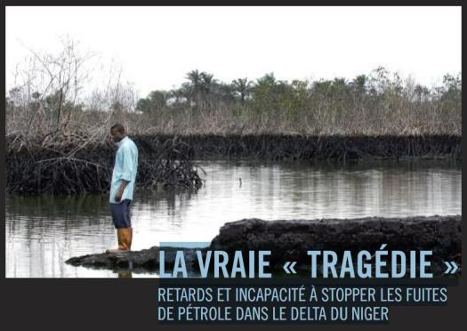 Nigeria delta niger petrole pollution shell pecheur amnesty international