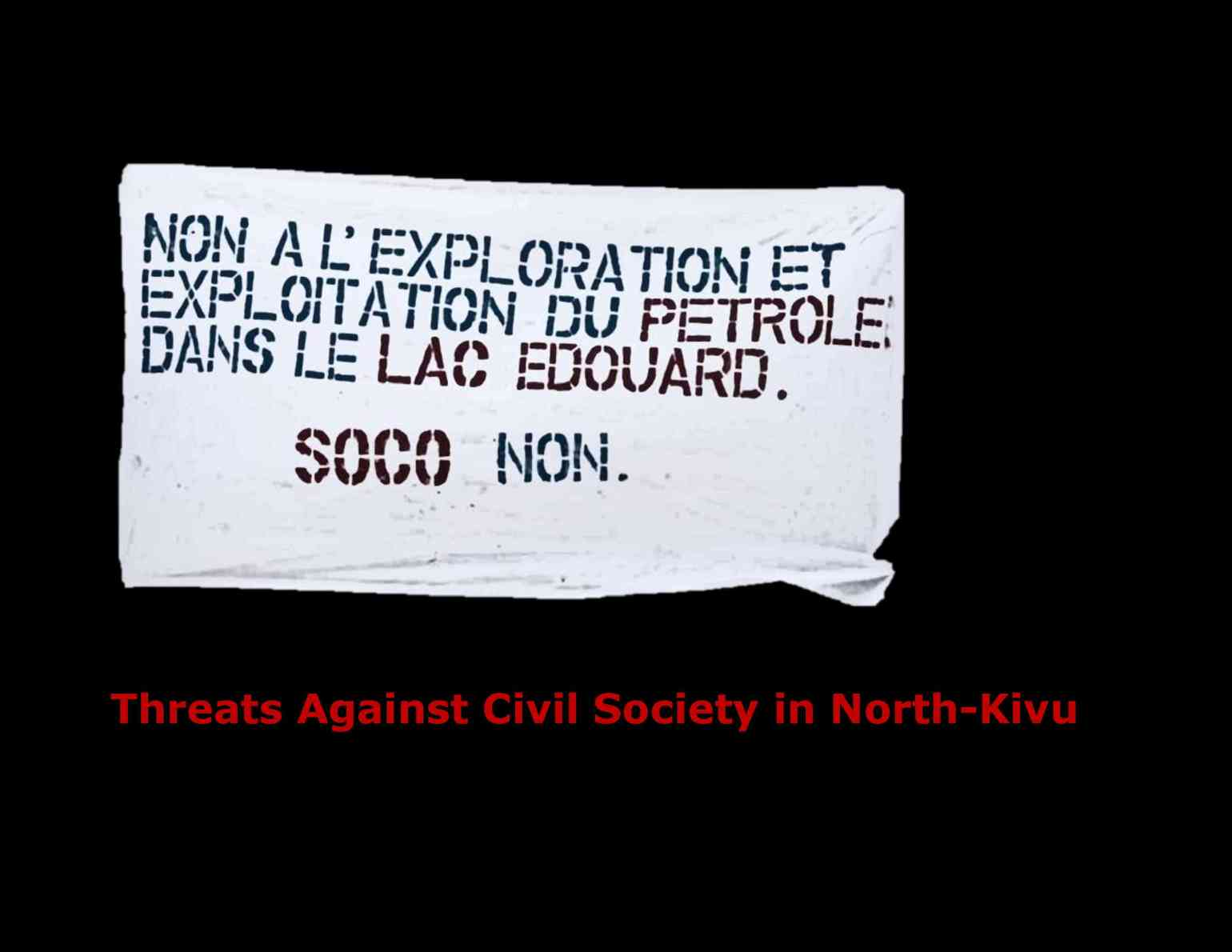 Threats Against Civil Society in North1