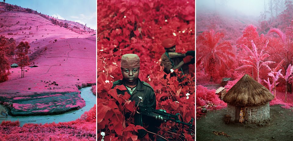 http://paradoxoutside.blogspot.nl/2011/12/richard-mosse-congo-in-infra-red-film.html