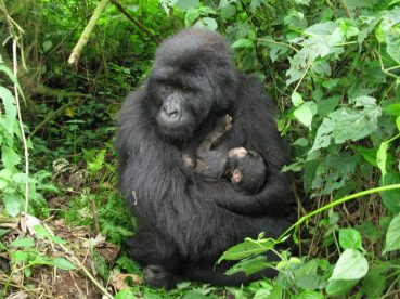 Kabirizi family: Kasai with her first born, a boy.