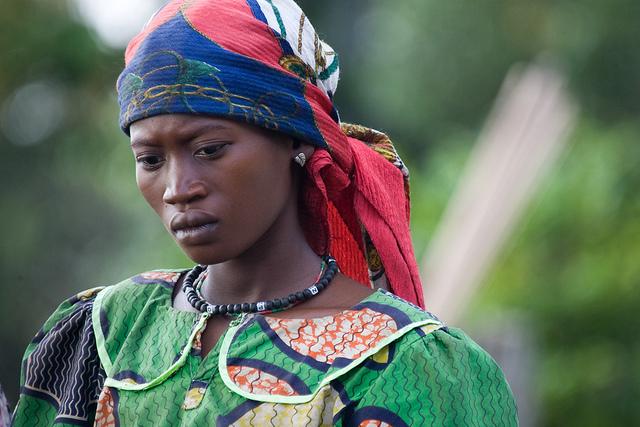 A woman of Bompata Encampment, Democratic Republic of the Congo (DRC). Photo ID 164605. 11/03/2007. Bompata, DRC. UN Photo/Marie Frechon. www.unmultimedia.org/photo/