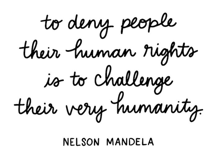 Nelson Mandela Quote X Human Rights Day The Little Market 2 Save