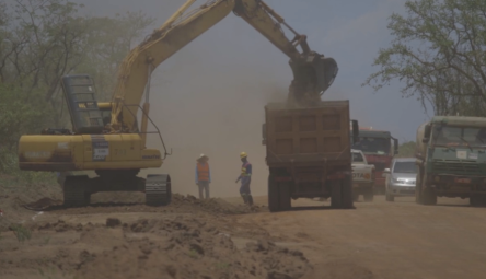Road Construction in Murchison Falls NP